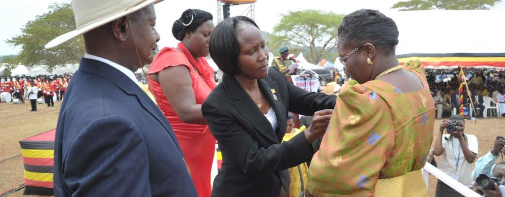 Women's day celebrated in Nakasongola March 2013